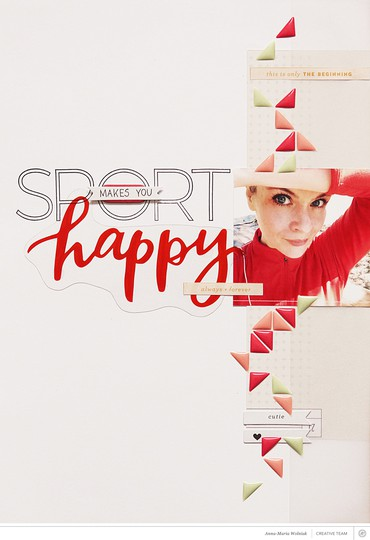 Sport makes you happy original