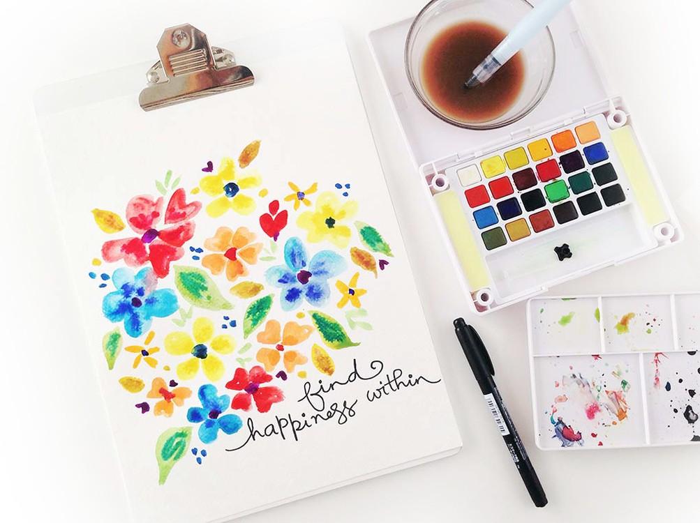 Make happy art