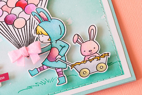 Hi sunshine bunny by natalie elphinstone original