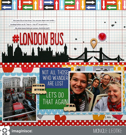 Mliedtke imaginisce happy traveler london bus original