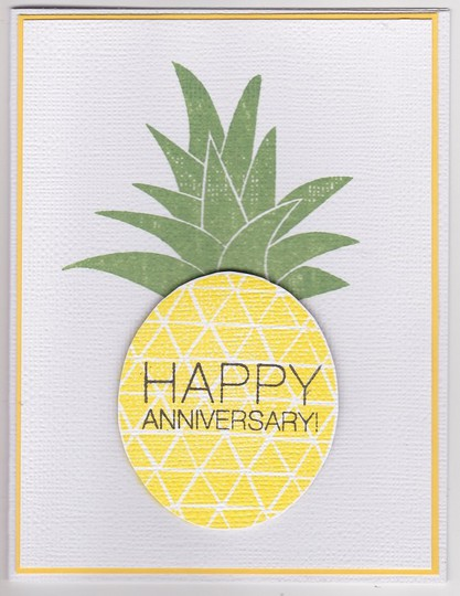 Anniversary pineapple original