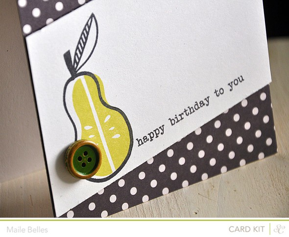 Happy birthday to you card detail