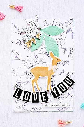 Loveyou card cardmaking gossamerblue mojosanti sandradietrich original