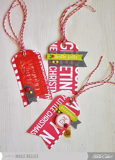 Christmas tag trio (card kit   add on 4)
