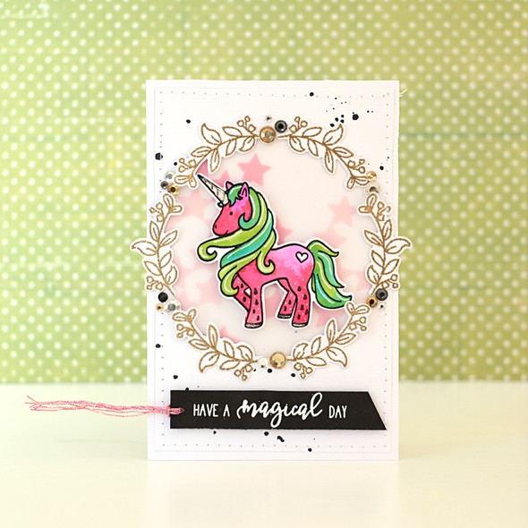Melonised unicorn card by natalie elphinstone 1 original