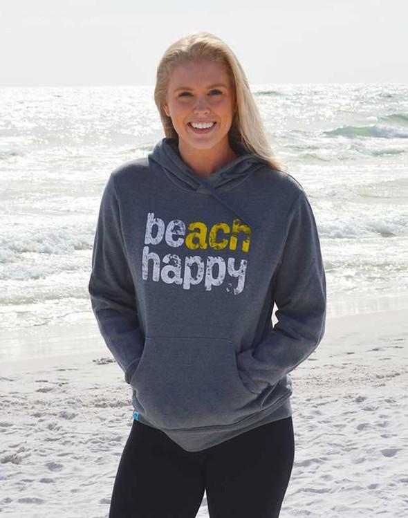 108642 beachhappyhoodedsweatshirtgray women slider1 original