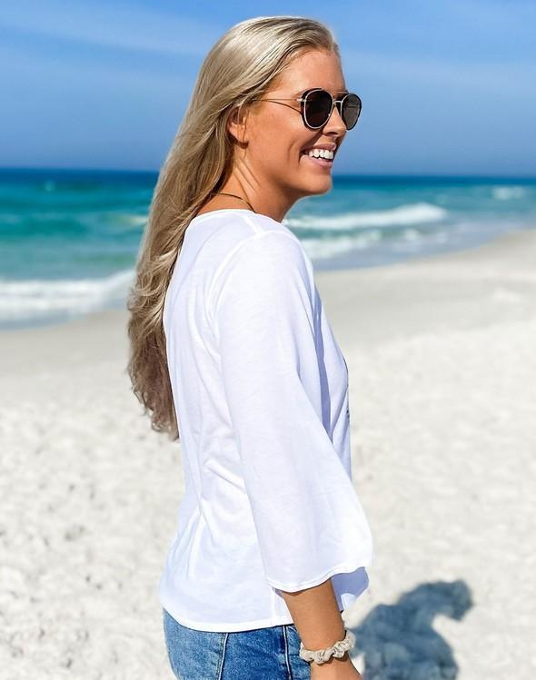 152480 beachlovebycalliedaniellev neckbellsleeveteewhite women slider5 original