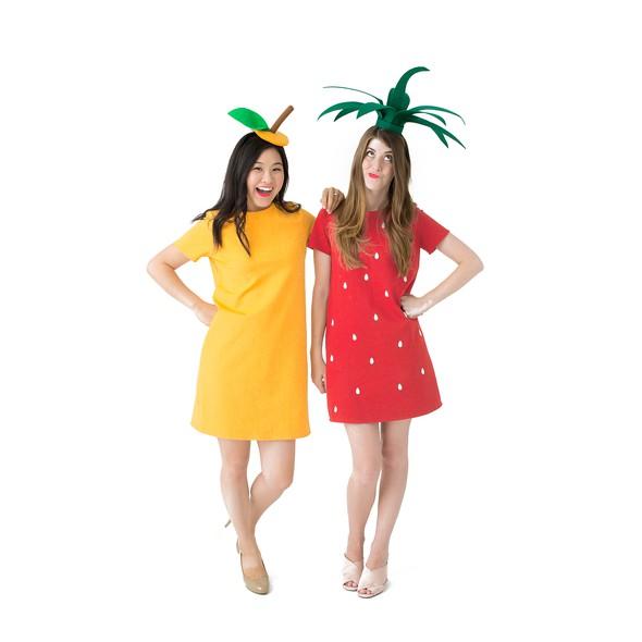 Orange dress product listing costume photo2new original