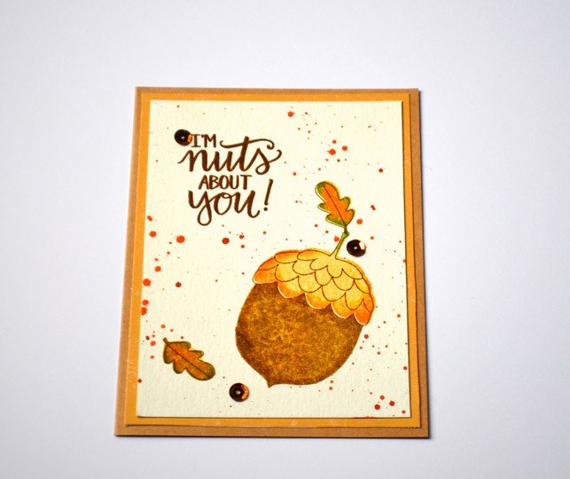 Walden nuts about you card original