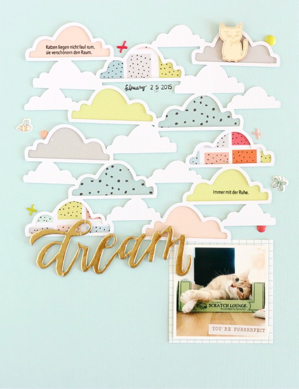 Dream scrapbooking layout 3 original