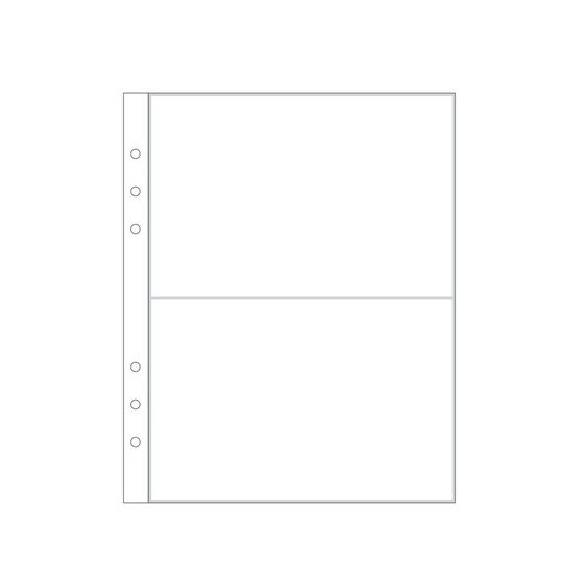 """Picture of 6x8"""" 3A Page Protector (6-ring)"""