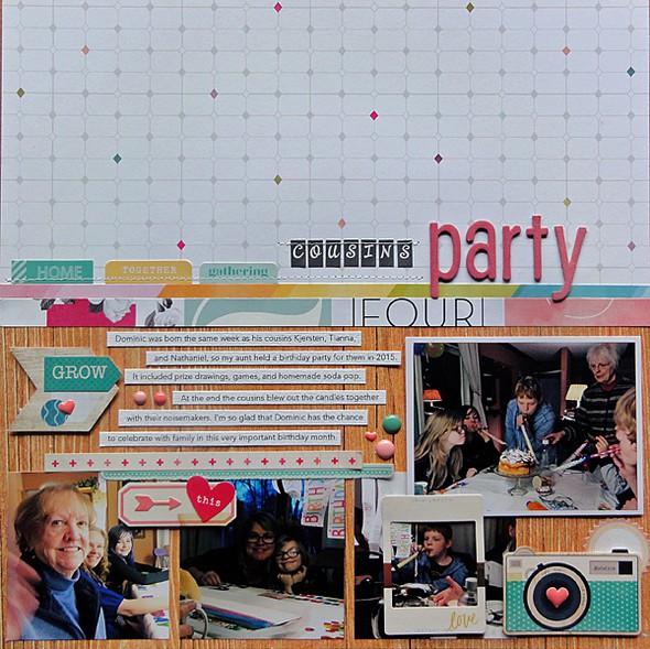 Cousins party by jennifer larson original