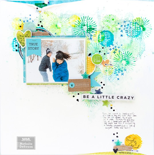 Vb be a little crazy layout nathalie desousa original
