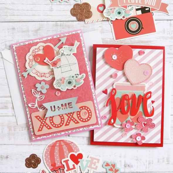Spellbinders elodie lusseau january kit cards 2 original