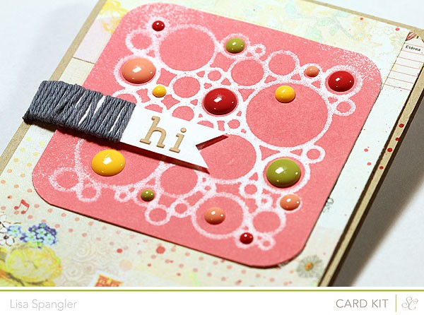 Lisa march card kit sneak 600