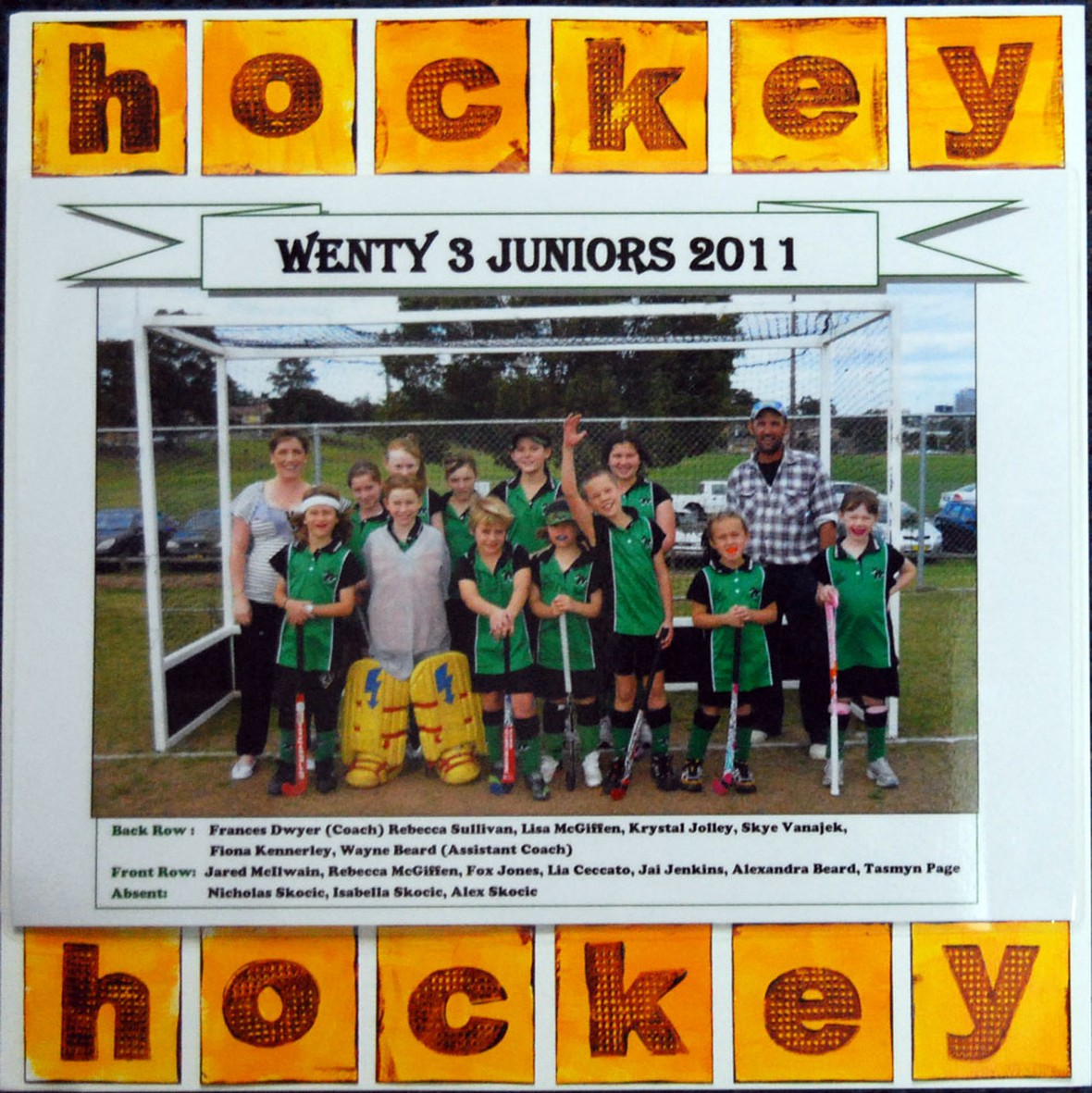 Lia grass hockey 2011 original