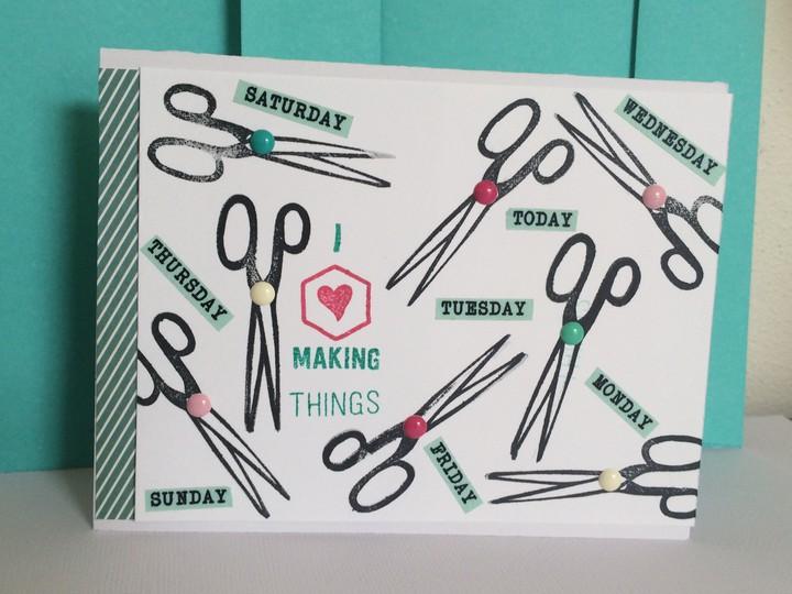 Crafting card