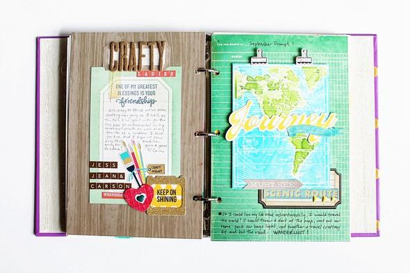 Art journal 9 full spread