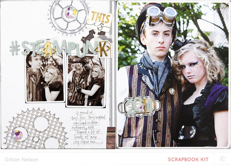 This is steampunk both