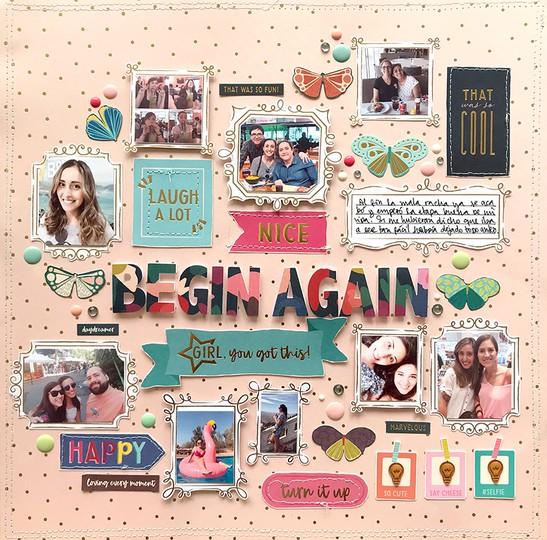 Begin again 1 original