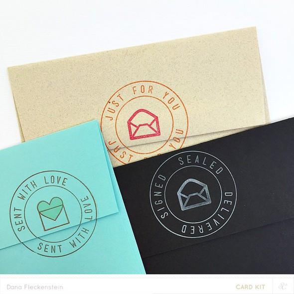 Pixnglue card envelope details