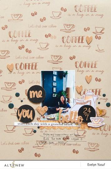 Coffee talk full layout by evelynpy original