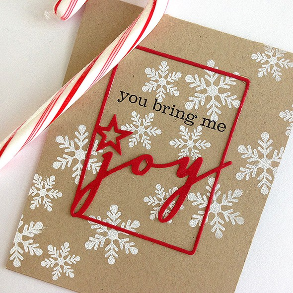 Kraft joy card