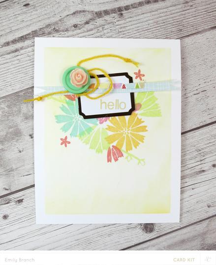 Helloflowers card