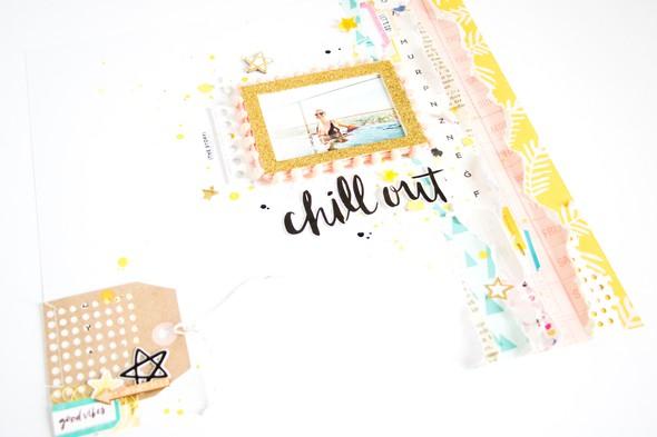 Chillout scatteredconfetti scrapbooking layout cratepaper citrustwistkits sugarland 2 original