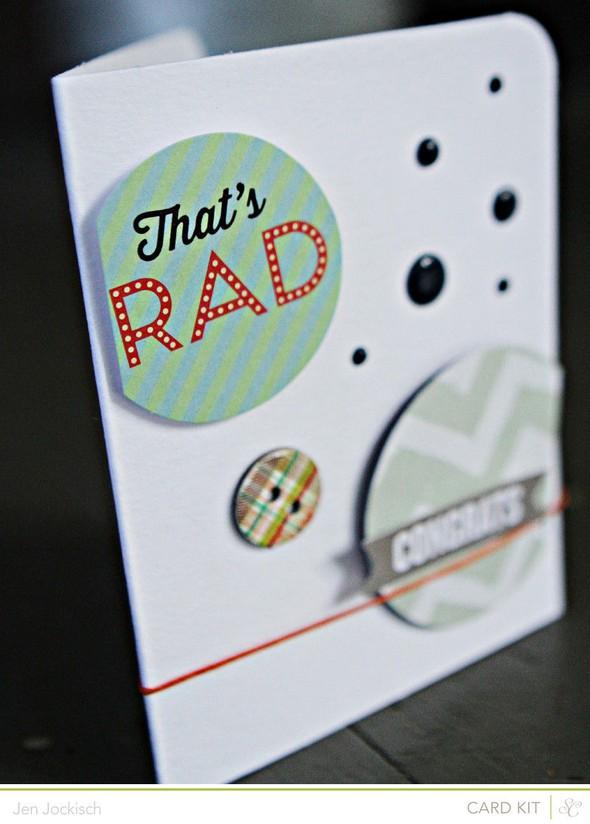 Radcard detail