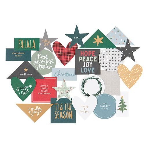 Picture of December Daily® 2021 2x2 Die Cut Pack