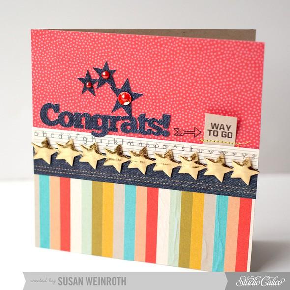 7   congrats card   susan weinroth