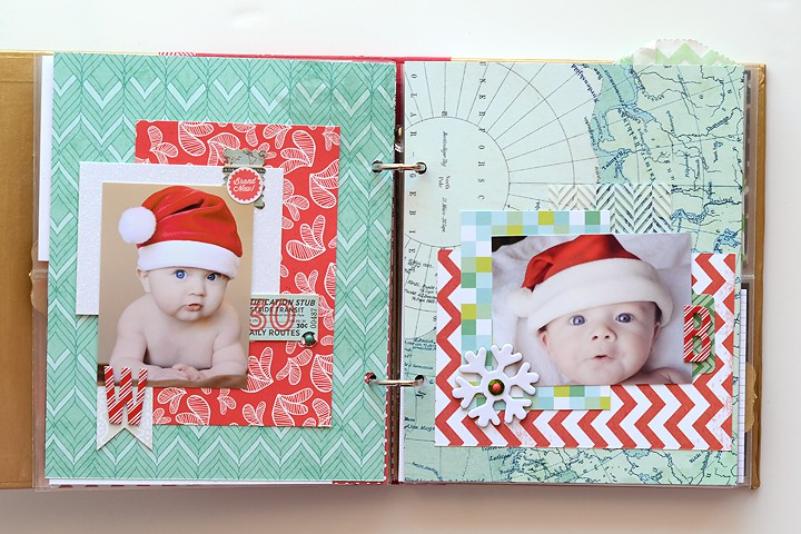Decemberdaily santa babies