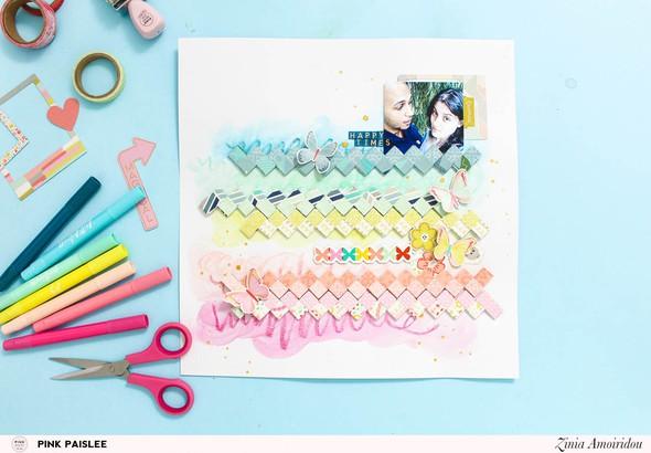 Pinkpaislee rainbowstrips  original