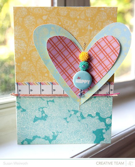 Be happy card   susan weinroth