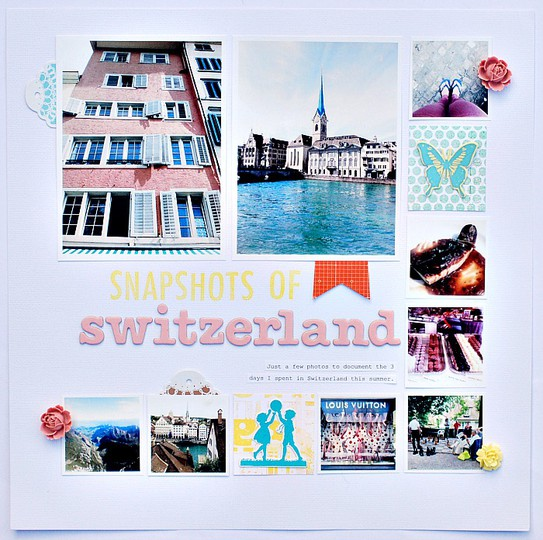 Snapshots of switzerland