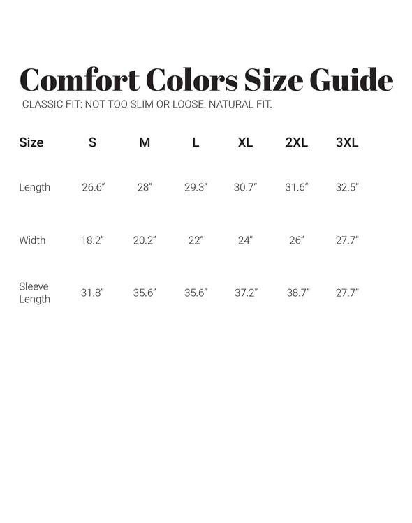 30a comfortcolorslongsleeve sizechart vertical original