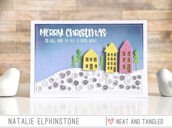 Merry christmas by natalie elphinstone original