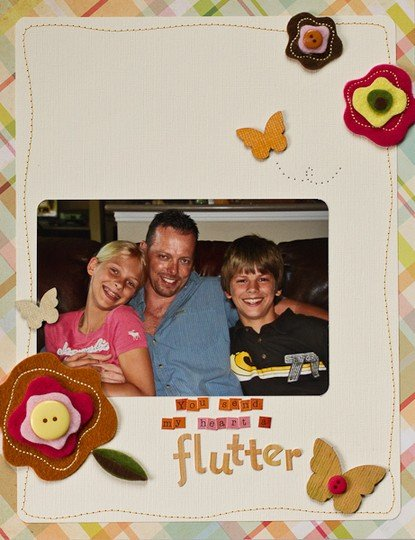 You send my heart a flutter 1