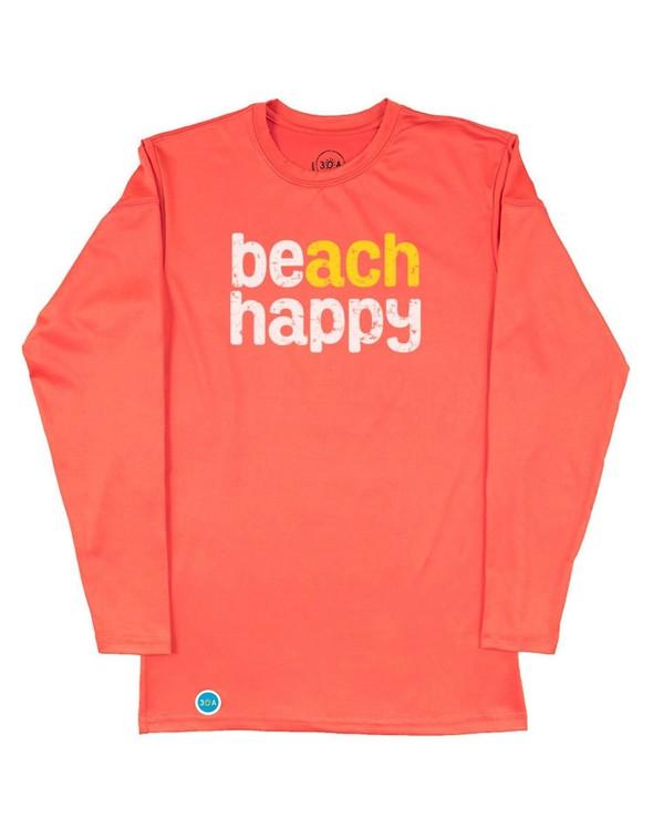 152533 beach happy long sleeve sun shirt coral women slider 4 original