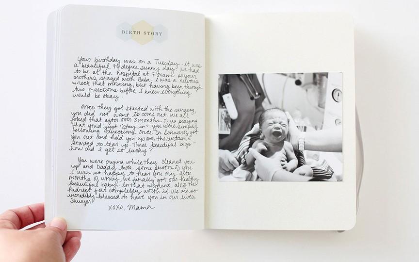 Bbb baby journal filmstrip 3 original