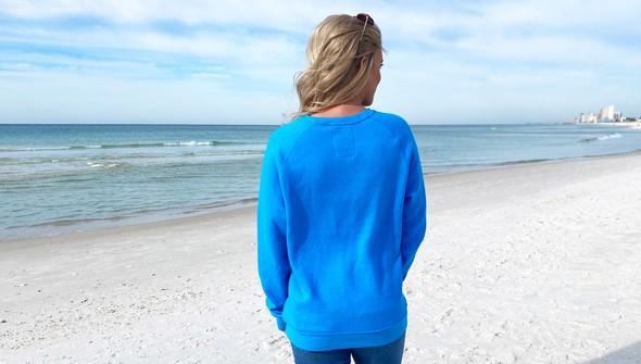 129402 life shines embroidered crew sweatshirt   women   30a blue slider7 original