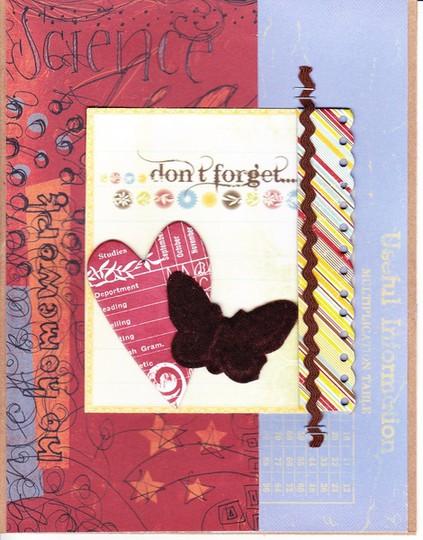 School card 0001