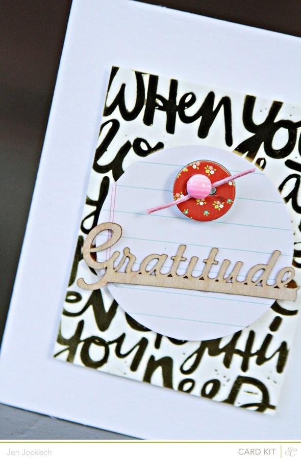 Gratitude detail