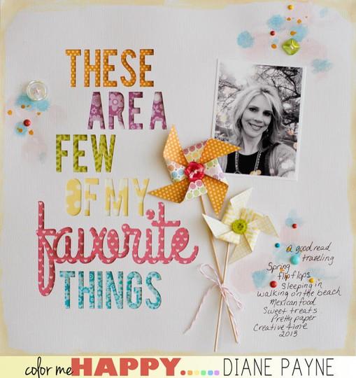 Favoritethings dianepayne