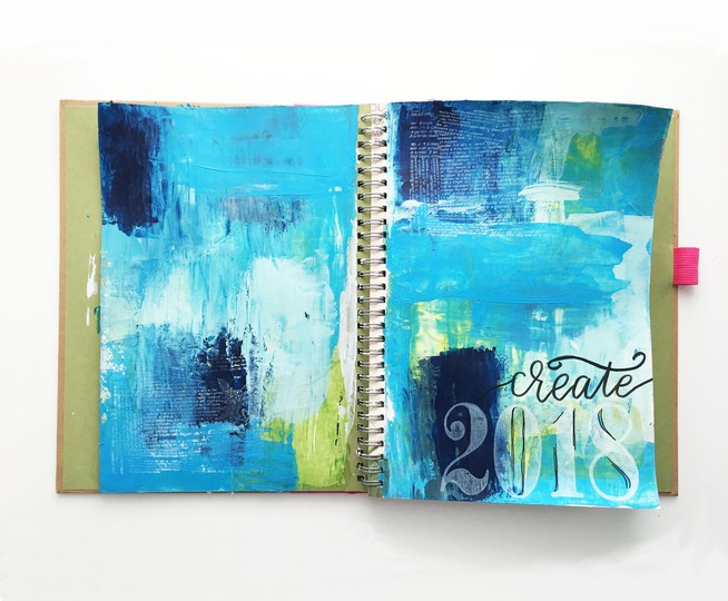 Create mixed media layout original