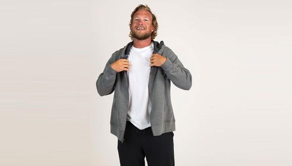 Basic fullzipsweatshirtmen gray slider2 original