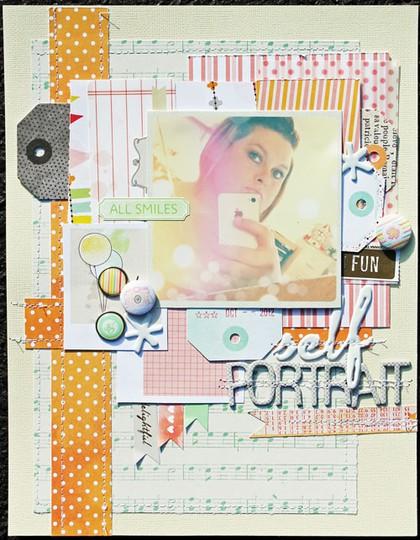 Self portrait   layout