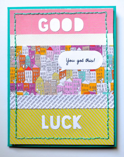 Park ave good luck card original