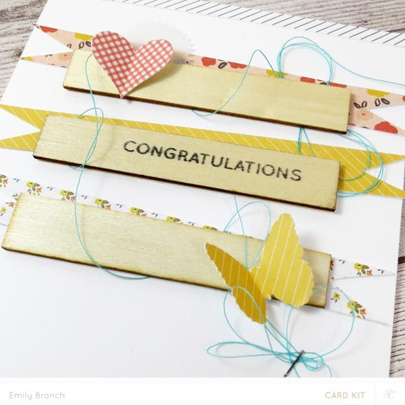 Congratulationscard closeup